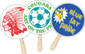 School Pride Items : Rally Fans