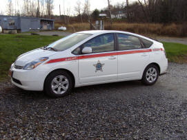 Lamoille County Sheriff Dept. Prius