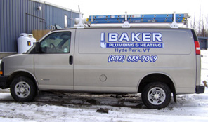 Baker Plumbing & Heating van