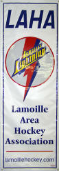 Lamoille Area Hockey Association Banner